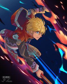 Video Game Art, Video Games, Xenoblade Chronicles Wii, Super Smash Bros, Crossover, Anime Guys, Collaboration, Nintendo, Nerd