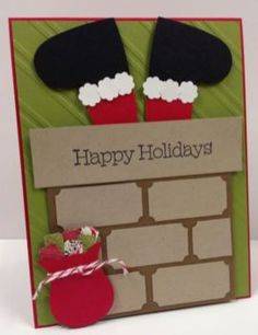 Creative DIY Christmas Cards Ideas For Your Home Decoration 07