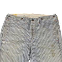 RRL Vintage Hickory Stripe Work Pants