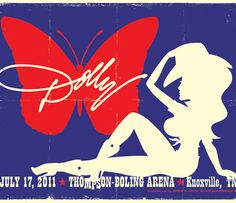 I have got to have this! I was at this concert! One of the best. days. EVER! I <3 Dolly!