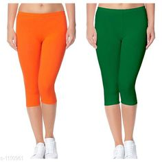 Capris Trendy Cotton Lycra Capris Leggings Fabric: Cotton Lycra Size: Up To 28 in to 36 in( Free Size) Length: Up To 34 in  Type: Stitched Description: It Has 2 Piece Of Women's Capris Pattern: Solid Country of Origin: India Sizes Available: Free Size, 24, 26, 28, 30, 32   Catalog Rating: ★4.1 (4089)  Catalog Name: Alice Trendy Cotton Lycra Capris Combo Leggings CatalogID_136944 C79-SC1037 Code: 442-1110961-237