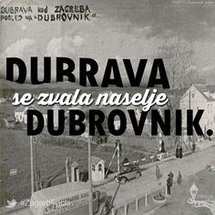 Većinu Dubrave posjedovao je Kaptol koji je počeo prodavati svoje posjede nakon agrarne reforme 1919. godine.   Rado Hribar, industrijalac iz Ljubljane, uočio je veliki potencijal tog područja pa je kupio veliki komad zemlje u Gornjoj Dubravi s namjerom da ju parcelira za stambenu gradnju.   Pripojena je Zagrebu 1949. godine ulaskom u područje rajona Maksimir. #ZagrebFacts #Zagreb #Dubrava
