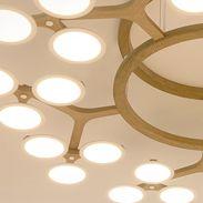 LG Display OLED Panel Pendant Lamp