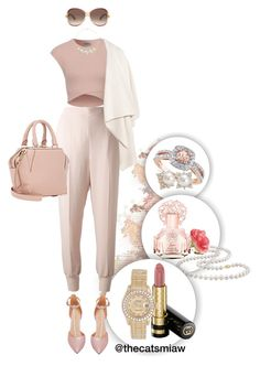 """La Vie en Rose"" by belleforcible on Polyvore featuring Miadora, OKA, Vince Camuto, STELLA McCARTNEY, Alexander McQueen, Amour, Alexander Wang, Marc Jacobs, Kenneth Jay Lane and Gucci"