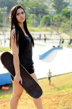 Editorial Comportamento - Garotas skatistas