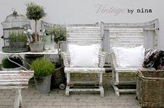 Vintage & Morrhår ▇  #Vintage #Home #Decor  via - Christina Khandan  on IrvineHomeBlog - Irvine, California ༺ ℭƘ ༻
