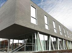 Röben Klinker, Bricks | Schulneubau, Tienen (BE) | Klinker: Röben Keramik-Klinker FARO grau-nuanciert | Foto: Röben, Tienen (BE)