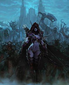 The banshee of my dreams! Lady Sylvanas and her Forsaken