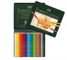 Faber-Castel Polychromos Colored Pencil Set With Metal Tin, 36 Count Faber Castell Polychromos 36, Crayola Colored Pencils, Different Shades Of Red, Artist Pencils, Artist Supplies, Drawing Letters, Tin Gifts, Creative Skills, Metal Tins