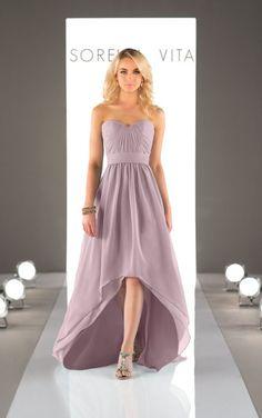 Dusty Lavender Black Bridesmaid Dresses 2ae4475b83af