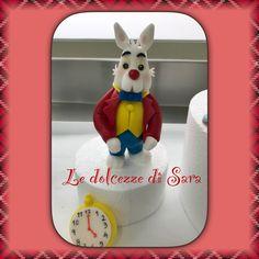 Coniglio bianco Alice nel paese delle meraviglie pdz