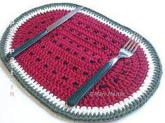 Resultado de imagen para crochet lino individuales