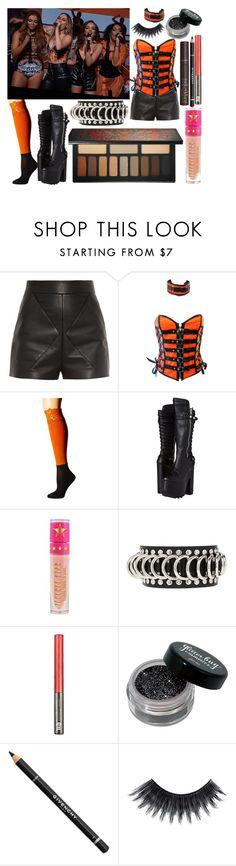 """Little Mix Shout Out To My Ex X Factor"" by katiehorror ❤ liked on Polyvore featuring Kat Von D, Balenciaga, E.vil, Bootights, Demonia, Jeffree Star, Forever 21, Urban Decay, Givenchy and Sugarpill"