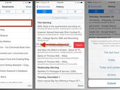 How to delete some or all of your Safari browsing history on iOS https://www.cnet.com/how-to/how-to-delete-some-or-all-of-your-safari-browsing-history-on-ios/?utm_campaign=crowdfire&utm_content=crowdfire&utm_medium=social&utm_source=pinterest