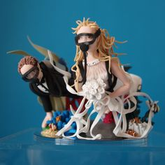 Scuba Diving Wedding Cake Topper With Sea Horses By Try Sarah Tops