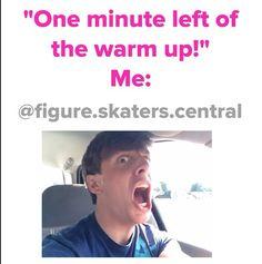Funny figure skating