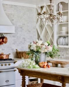 Instagram Modern French Country, French Country Kitchens, French Country Cottage, French Country Decorating, Modern French Kitchen, French Country Colors, French Decor, Country Chic, Cottage Style