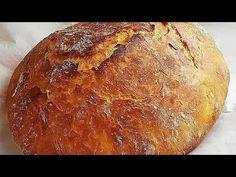 Ψωμί γάστρας σε 5 λεπτά της Γκολφως , πετυχημένη συνταγή, εύκολη, κατανοστιμο ψωμάκι - YouTube Greek Recipes, Food To Make, Cooking Recipes, Youtube, Brot, Chef Recipes, Greek Food Recipes, Youtubers