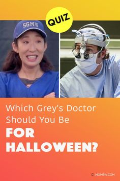 Take this quiz about yourself designed to match you with the Grey's doctor you should dress up as for Halloween this year. #greyshalloween #halloweencostume #greyshalloweencostume #greysanatomy #greysquiz #greyspersonalityquiz