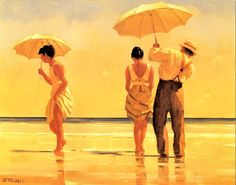 Jack Vettriano - Mad Dogs - More at http://www.wikipaintings.org/en/jack-vettriano (Thx Lisa)