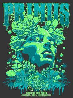 Art <b>Art.</b> Primus Poster Series - zoltron. Poster Art, Kunst Poster, Poster Series, Art Series, Poster Poster, Rock Posters, Band Posters, Retro Posters, Film Posters