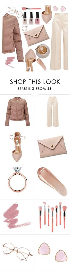 """Untitled #512"" by janicevc ❤ liked on Polyvore featuring Miss Selfridge, The Row, Steve Madden, Victoria's Secret, Tiffany & Co., NARS Cosmetics, Bdellium Tools and Ottoman Hands"