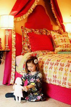 Sweet baby girl room