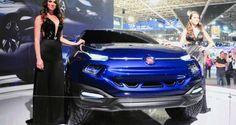 2014 #Fiat #FCC4 Concept For Sao Paolo Is Samba Rambo SUV Pickup!