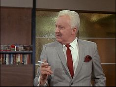 Bewitched: Season 4, Episode 32 Man of the Year (2 May 1968), Larry Tate, David White