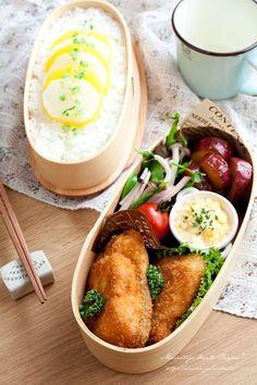 Radish and rice, salmon with simple tartar sauce, ham and mushroom salad, and potato