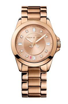 Juicy Couture  Stella  Crystal Marker Bracelet Watch af11ede7e86