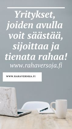 SUOSITTELEN – RAHAVERSOJA Konmari, Learning, Home Decor, Future, Business, Decoration Home, Future Tense, Room Decor, Studying