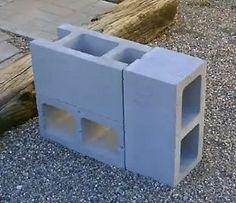 Mauerstein vollstein eleganca grau 40x20x16 5 cm bei for 4 block rocket stove