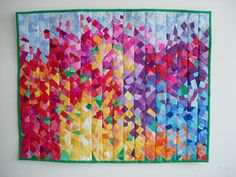 """""""Summertime"""" quilt by Marzena Krzewicka"""