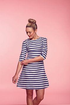 FREE gorgeous Brigitte Dressmaking Pattern from@lovesewingmag