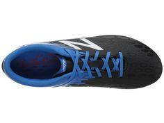 New Balance Kids JSVRCFv2 Soccer (Little Kid/Big Kid) Boys Shoes Black/Bolt
