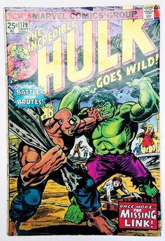 The amazing spider man vol 1 129 superheros pinterest book the incredible hulk 179 marvel 1974 missing link brickfords talbot fandeluxe Choice Image