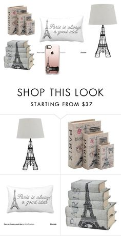 """""""paris themed bed room"""" by ew19139 ❤ liked on Polyvore featuring interior, interiors, interior design, home, home decor, interior decorating, Home Decorators Collection and Casetify"""