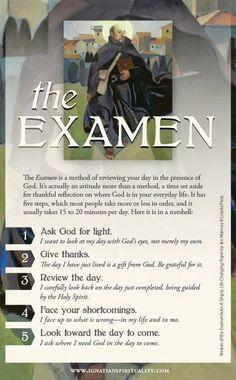 The Examen by St. Ignatius Loyola