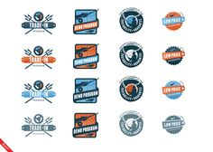 9.26.2012 | Icon design for Trident Fly Fishing, by oyeah #nostalgic #classic #detailed #POTD99