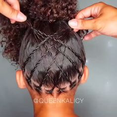 Best Picture For girls natural hairstyles protective styles For Your Taste You are looking for somet Easy Black Girl Hairstyles, Mixed Kids Hairstyles, Baby Girl Hairstyles, Natural Hairstyles For Kids, Kids Braided Hairstyles, Natural Hair Styles, Hairstyle Short, School Hairstyles, Prom Hairstyles