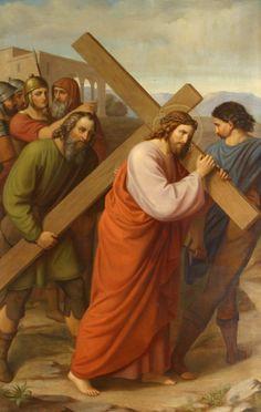 5ª Estación: Simón de Cirene ayuda a Jesús a llevar la cruz