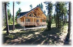 Picturesque Log Cabin near Sunriver, OR