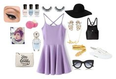 """Pastel Purple"" by trendyari ❤ liked on Polyvore"