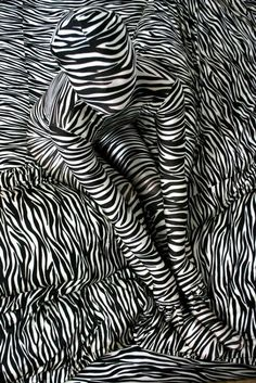 This picture is a good example of pattern because you know the zebra stripes keep going throughout the picture. Pattern is when you can predict the shapes or colors. Op Art, White Art, Black And White, Arte Linear, Illusion Art, Illustration, Art Abstrait, Art Plastique, Optical Illusions