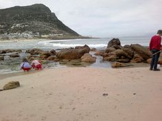 Glencairn beach,Simon's Town,with lovely rock pools.