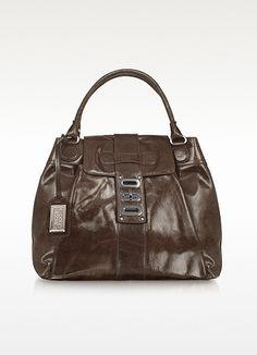 acd769e73aa Badgley Mischka Amber Genuine Leather Tote Bag