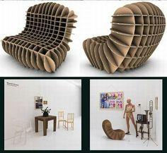 Сотовое кресло