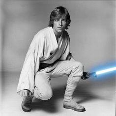 Luke Skywalker. Absolutely my FAVORITE Star Wars character. He always will be.