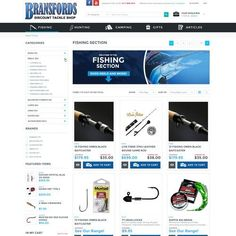 New Magento Template design for Australian Fishing Tackle store We sell fishing tackle, hunting gear, camping equipment and a range of accessories for outdoor activities. Located in... #fishingtackle